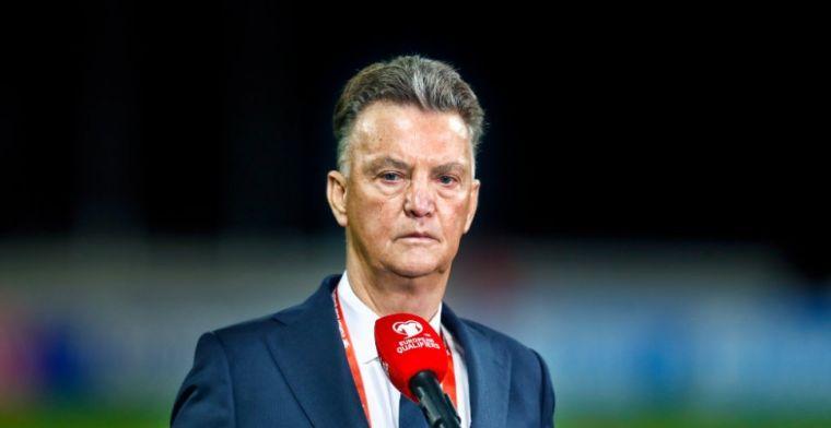 Van Gaal over Drommel-gerucht: 'Privé, dan gaat het een eigen leven leiden'