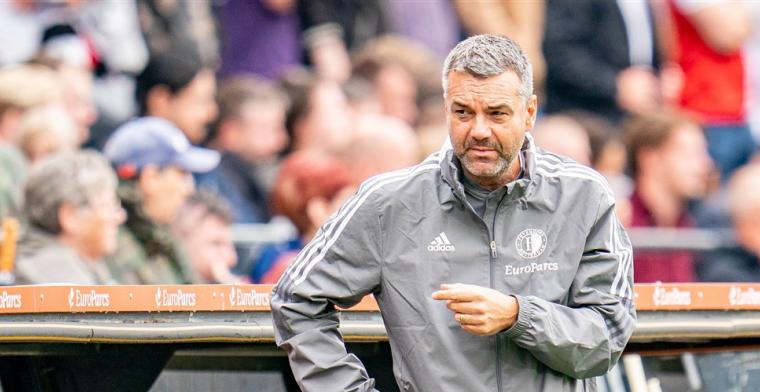 'Had aanbiedingen om hoofdtrainer te worden, maar ik geef alles voor Feyenoord'