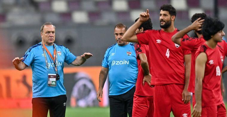 Advocaat en Van Marwijk blijven steken op een gelijkspel na bizarre slotfase