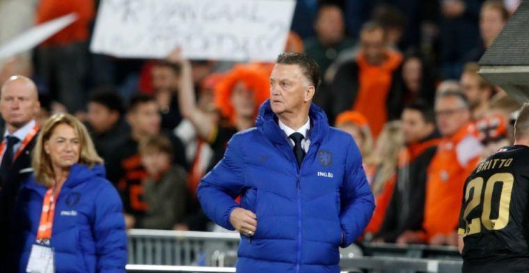 Van Gaal hint weer naar systeemwissel: 'Dit Oranje is gemaakt voor 5-3-2'