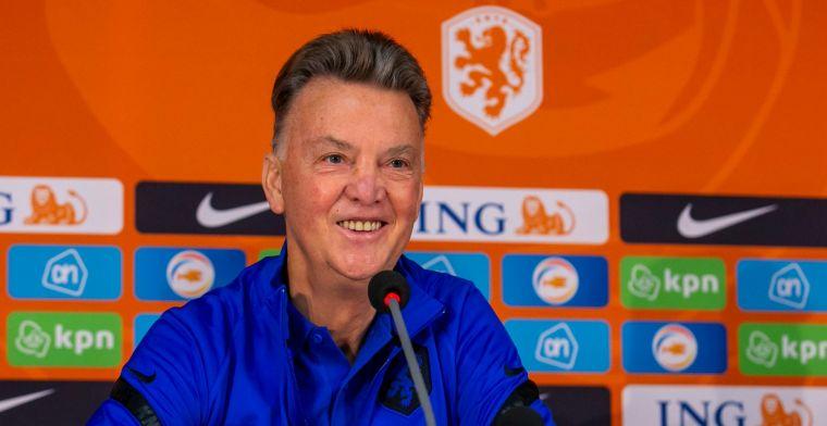 'Erg korte voorbereidingstijd wacht voor Oranje en Van Gaal bij WK-kwalificatie'
