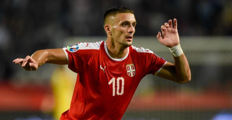 Tadic eist strafschop op bij Servië: 'Hij moet weten wie er ouder is'