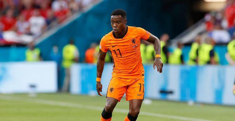 Promes hoopt op 'Oranje-bonus': 'Meneer Van Gaal kent mijn potentie'