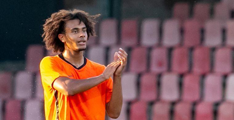 Zirkzee: 'Feyenoord is uiteindelijk niet heel dichtbij gekomen'