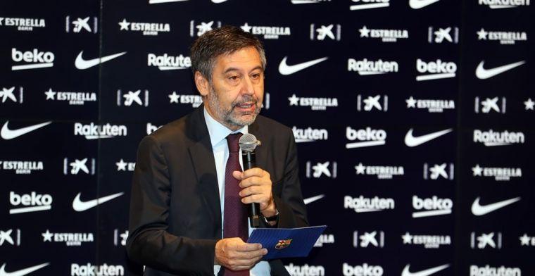 'Voormalig Barça-voorzitter Bartomeu plant tegenoffensief na beschuldigingen'